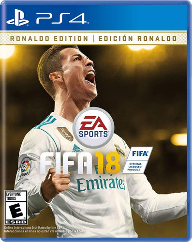 FIFA 18 Ronaldo Edition on PS4 Video Game Brand New - Overflow Video Games