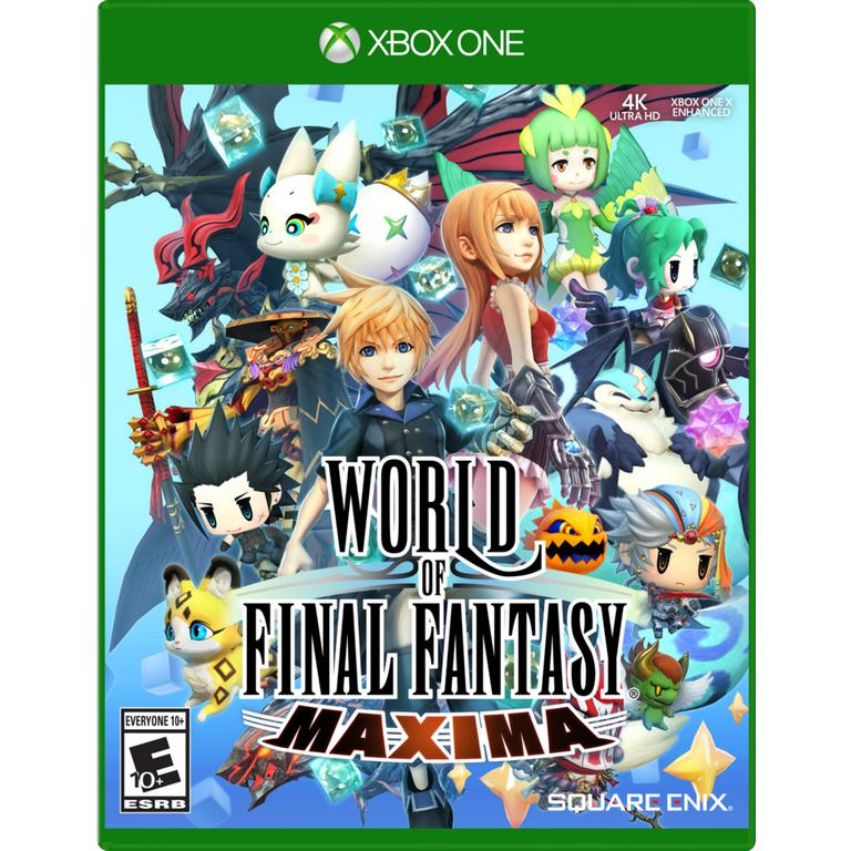 World of Final Fantasy Maxima Xbox One Video Game Brand New - Overflow Video Games