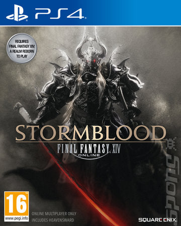 (PS4) Final Fantasy XIV Stormblood Brand New Video Game - Overflow Video Games