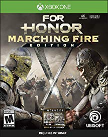 For Honor Marching Fire Edition Xbox One Video Game Brand New - Overflow Video Games