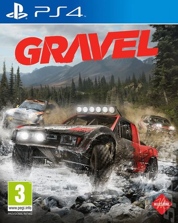 Gravel on PS4 Video Game Brand New - Overflow Video Games