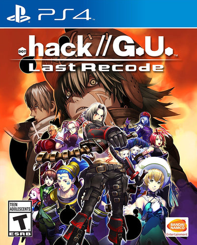 Namco .Hack//G.U. Last Recode PS4 Video Game Brand New - Overflow Video Games