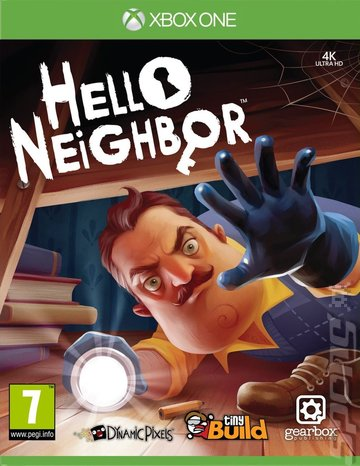 Hello Neighbor Xbox One Video Game Brand New - Overflow Video Games