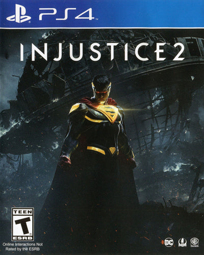 Injustice 2 on PS4 Video Game Brand New - Overflow Video Games