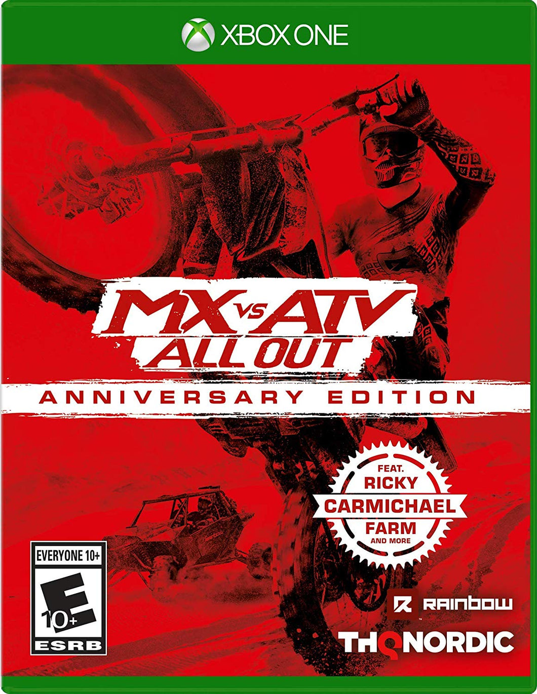 MX vs ATV Anniversary Xbox One Video Game Brand New - Overflow Video Games