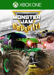 Monster Jam Crush It Xbox One Video Game Brand New - Overflow Video Games