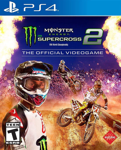 Monster Energy Supercross 2 on PS4 Video Game Brand New - Overflow Video Games