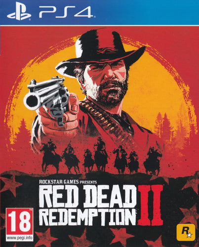 Red Dead Redemption II on PS4 Video Game Brand New - Overflow Video Games