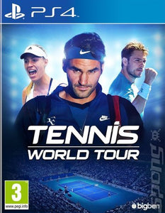 Tennis World Tour on PS4 Video Game Brand New - Overflow Video Games