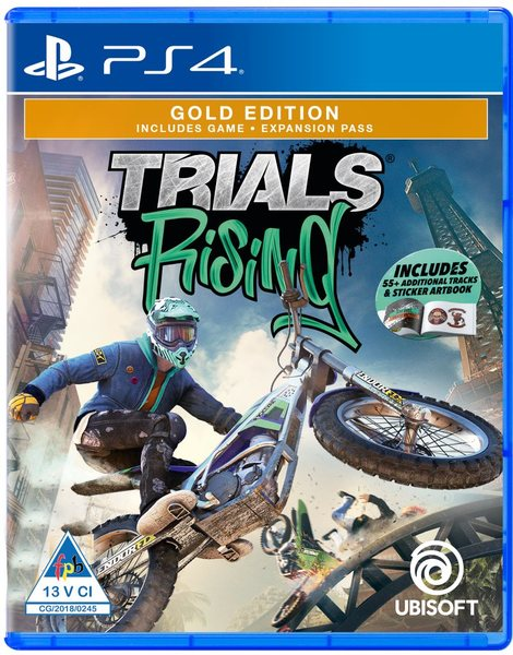 (PS4) Trials Rising Used Video Game - Overflow Video Games
