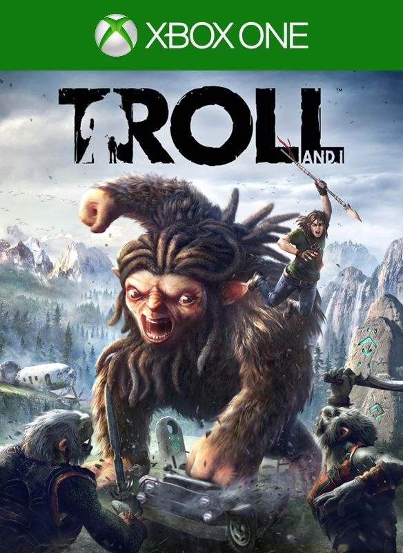 Troll & I Xbox One Video Game Brand New - Overflow Video Games