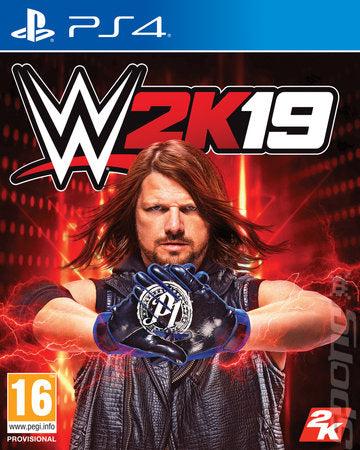 WWE 2K19 on PS4 Video Game Brand New - Overflow Video Games