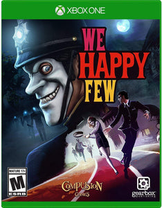 We Happy Few Xbox One Video Game Brand New - Overflow Video Games