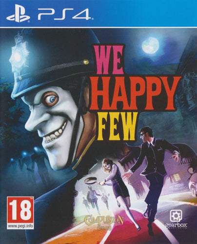 Gearbox We Happy Few PS4 Video Game Brand New - Overflow Video Games