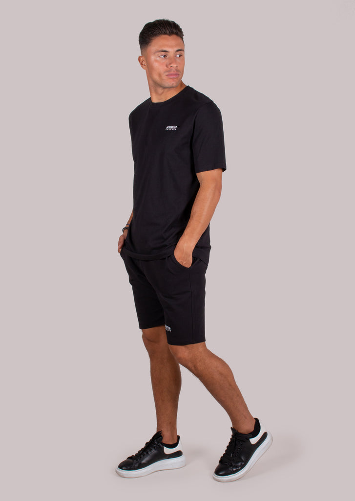 SWEATSHORT COUTURE BLACK