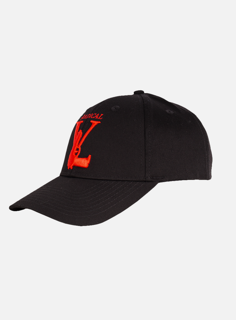 MANUELE CAP GUN BLACK/RED