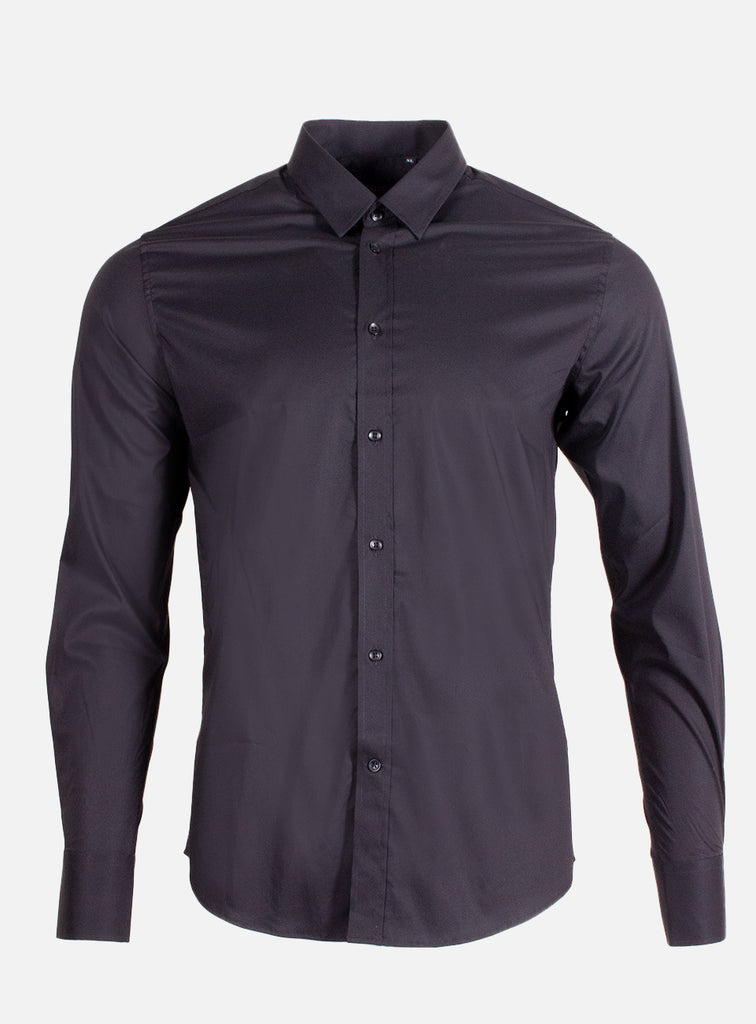 DAVIDE SHIRT BLACK