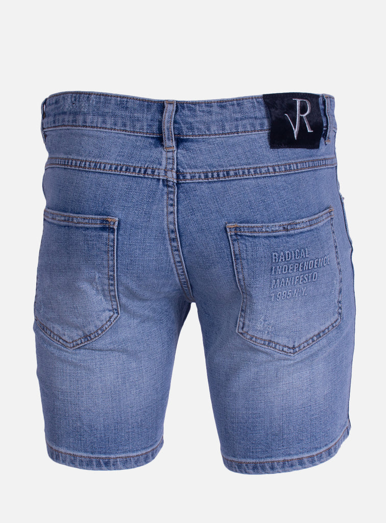 Denim short Dwayne Blue Desert