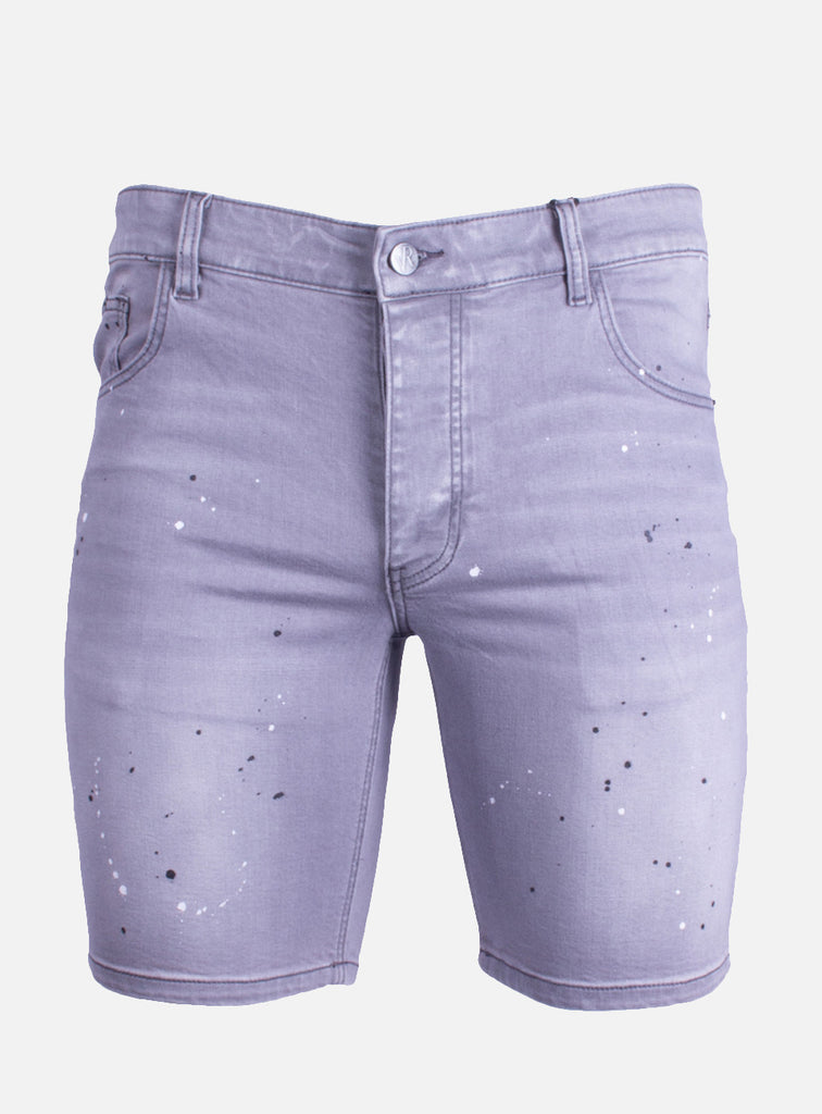 Denim Short Dwayne Light Grey