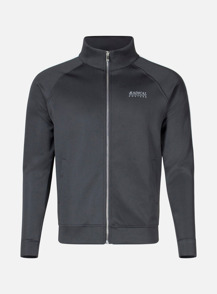 TRACK JACKET COUTURE BLACK/WHITE