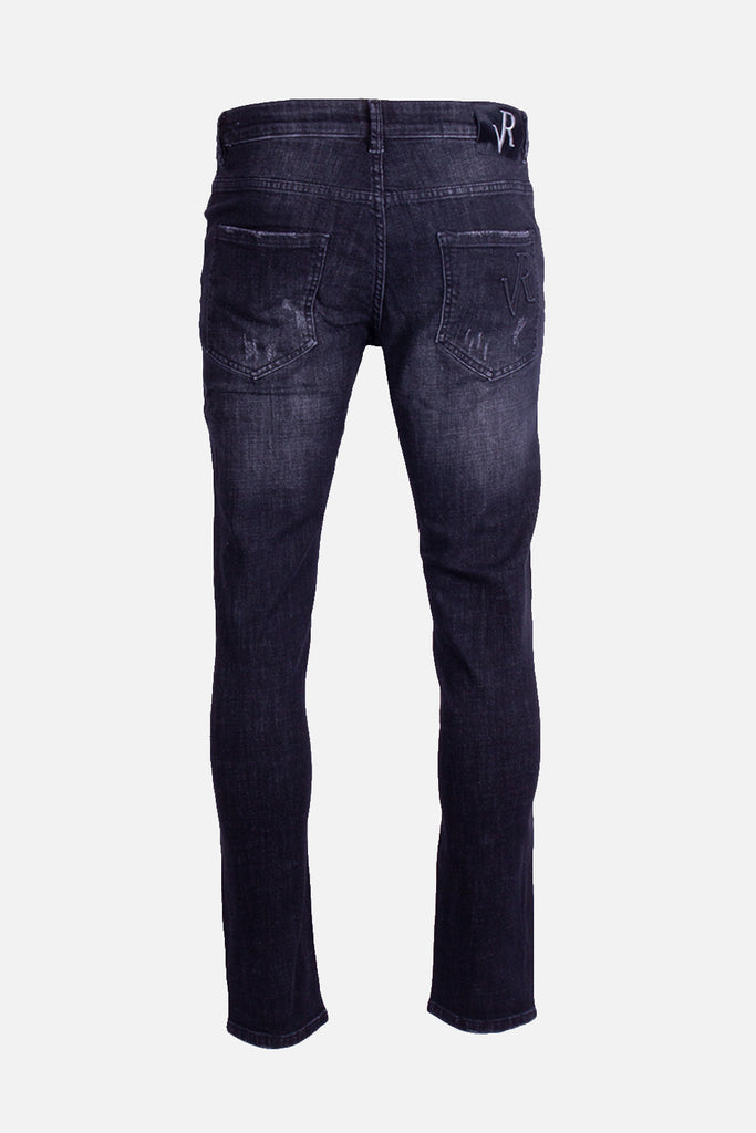 Jeans Dwayne Damaged Black