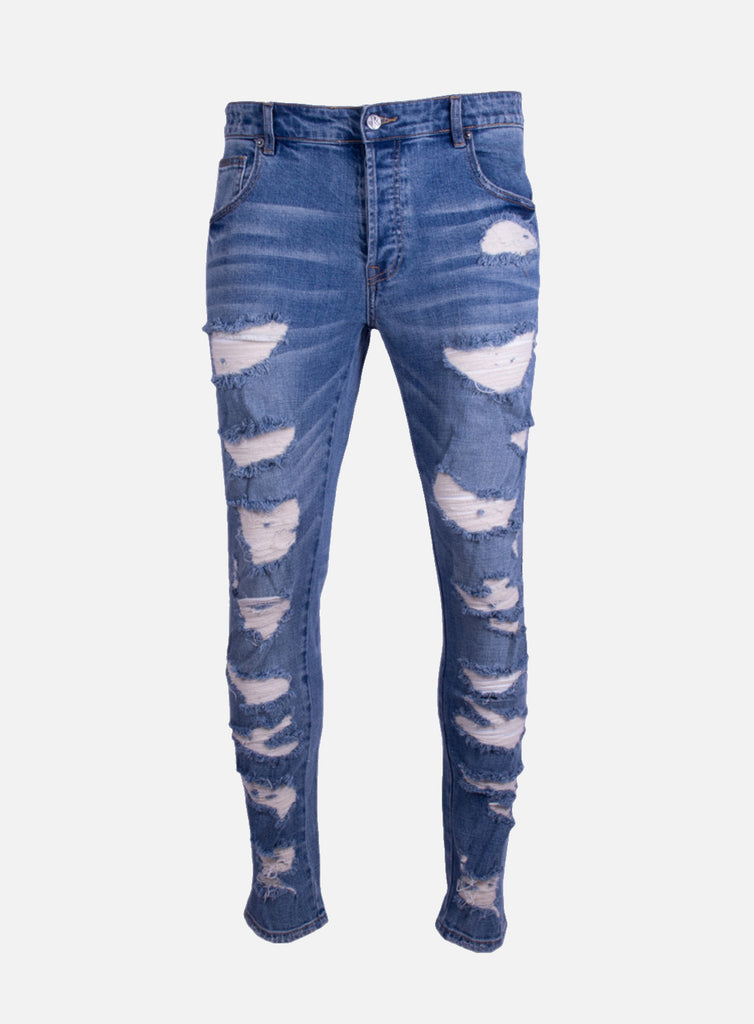 Jeans Dwayne Blue Destroyed