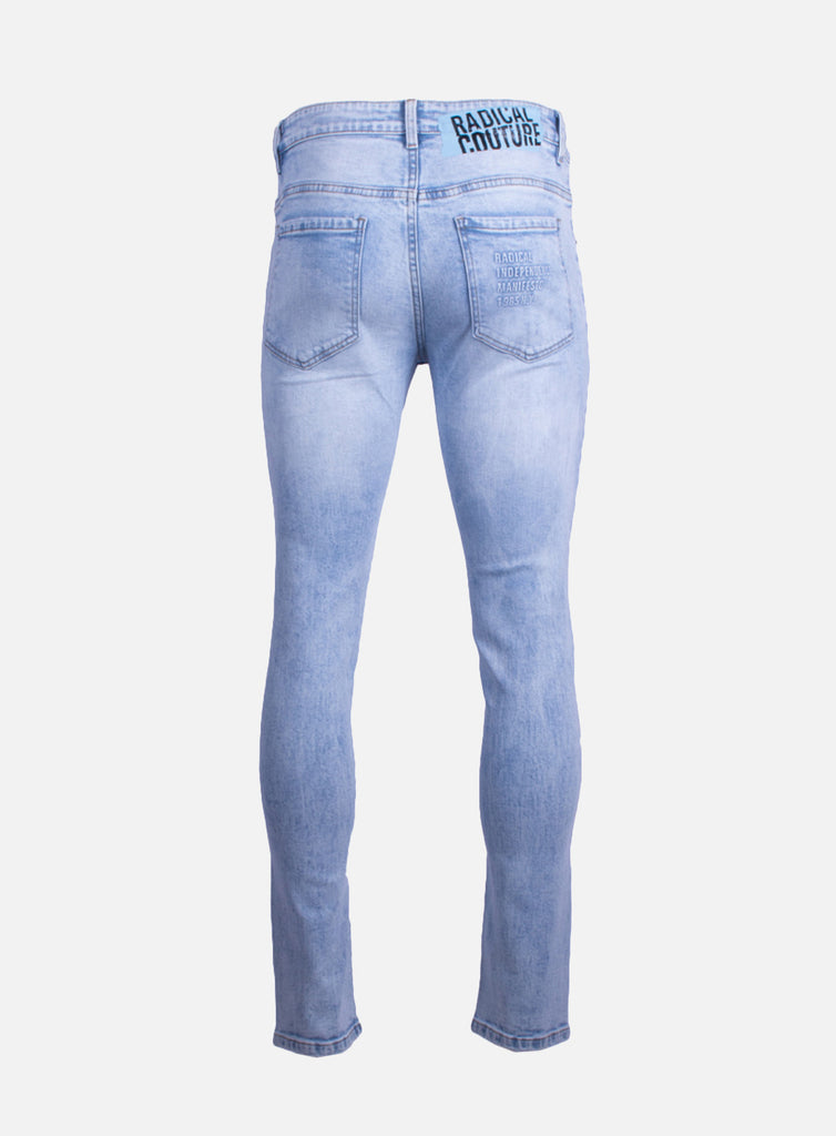 Jeans Dwayne Damaged Light Blue