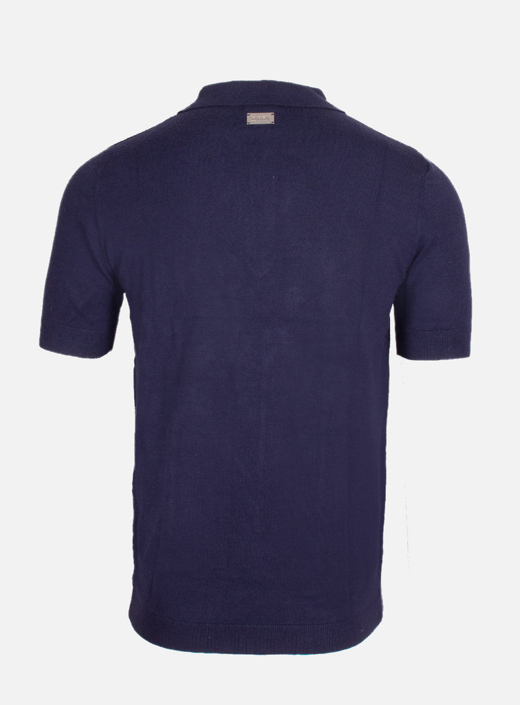 Salvo Polo Knit Blue