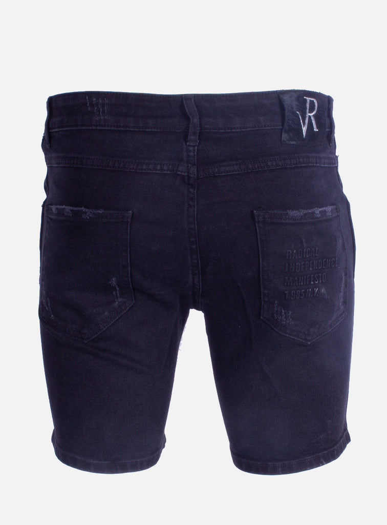 Denim short Dwayne Blanco Black
