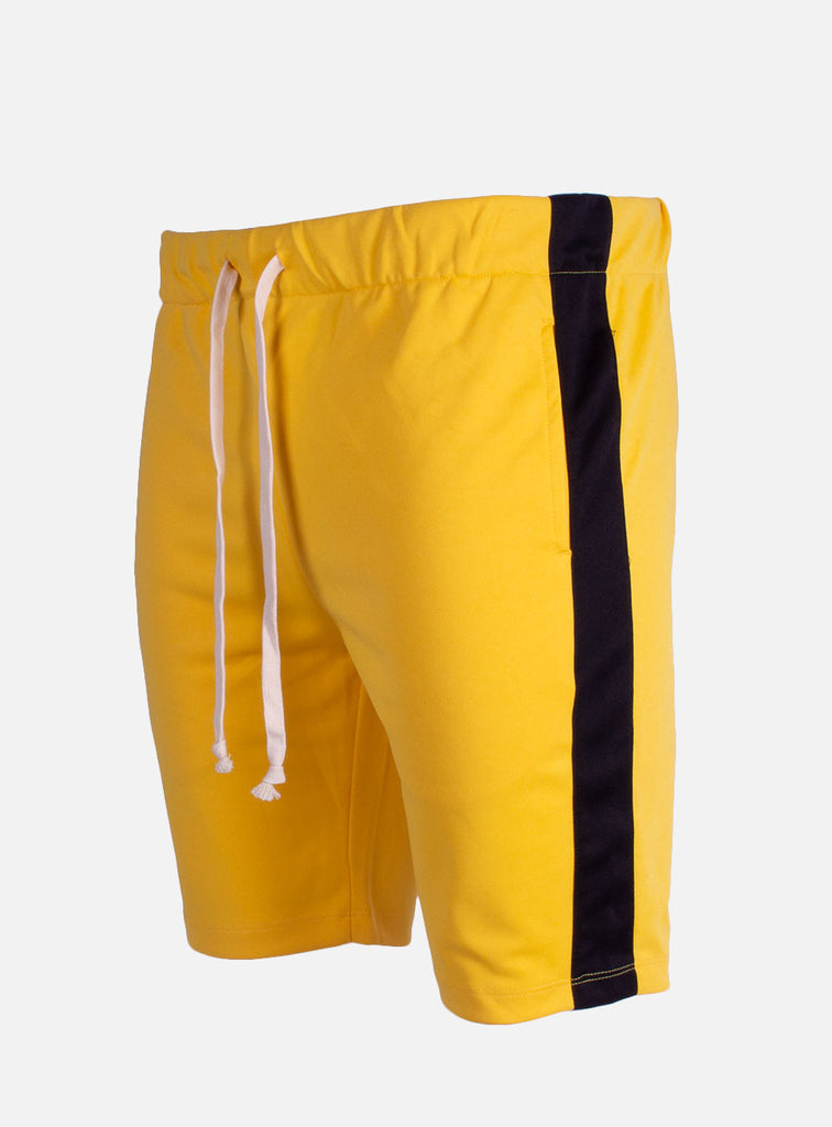 TRACKSHORT YELLOW BLACK