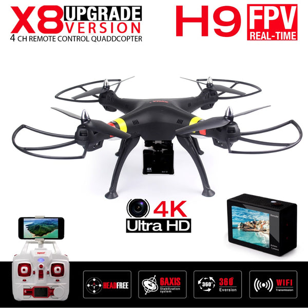 NEW X8W X8 FPV RC Drone With 4K/1080P WIFI Camera - Daily Tech Gadgets