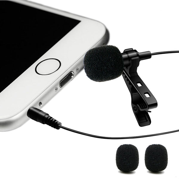Mic300  3.5mm Clip-on Wired Microphone - Daily Tech Gadgets