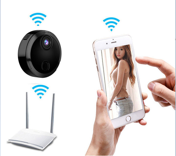 HDQ15 Wifi wireless infrared round mini camera - Daily Tech Gadgets
