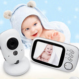 3.2 Inch Wireless Video Color LCD Night Vision Baby Monitor - Daily Tech Gadgets