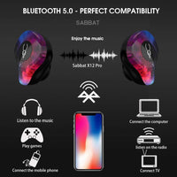 Bluetooth 5.0 Wireless Sport Headset with Magnetic Charging Case Built-in Mic for iPhone, Samsung - Daily Tech Gadgets