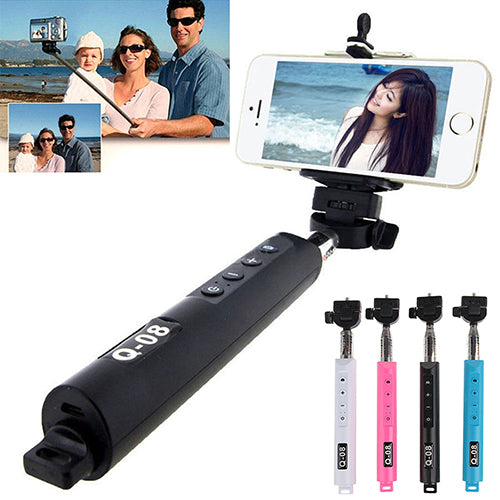 Wireless Bluetooth Extendable Zoom Handheld Selfie Stick - Daily Tech Gadgets