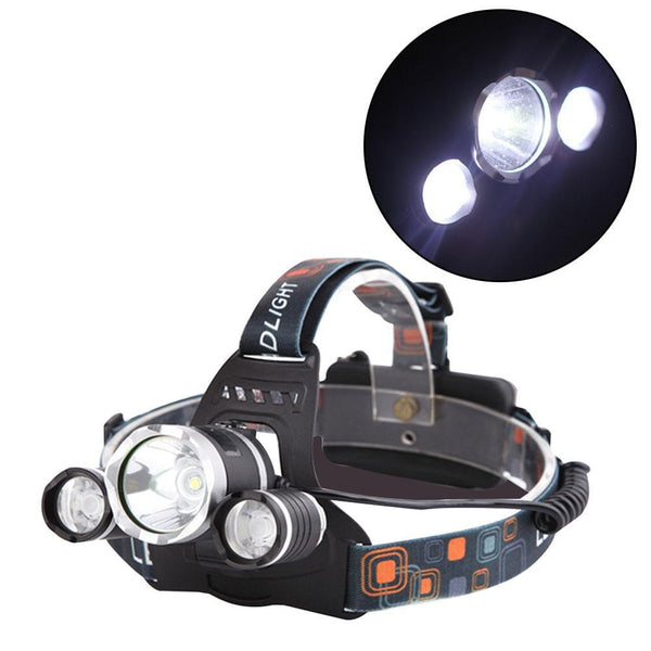 3 LED Headlamp For Automotive, Camping, Fishing & More - Daily Tech Gadgets