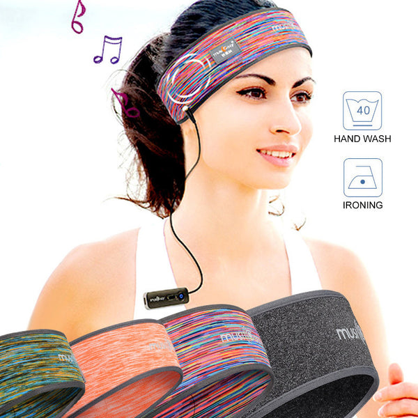 Sports Wireless Bluetooth Stereo Headband - Daily Tech Gadgets