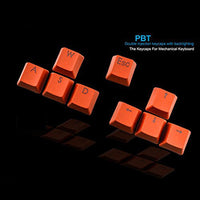 Key caps For Mechanical Keyboard (Orange) - Daily Tech Gadgets