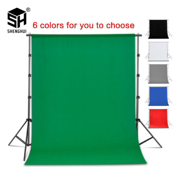 Photography Backdrop Collapsible Polyester Cotton Green Screen