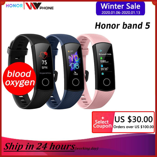 Oxygen Honor band 5 smart - Daily Tech Gadgets