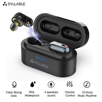 SYLLABLE S101 Volume Control Earbuds - Daily Tech Gadgets
