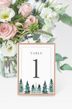 Alex Table Number