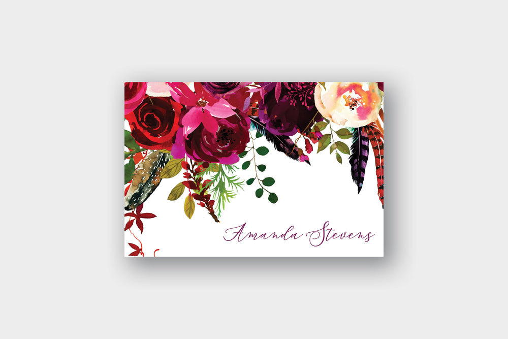 Boho Chic Note Cards