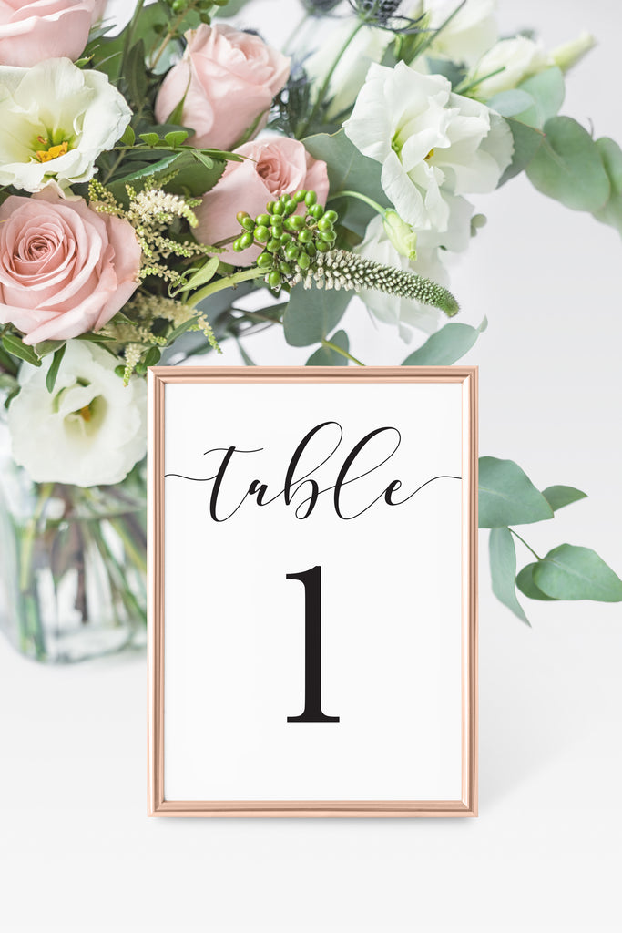 Brooklyn Table Number