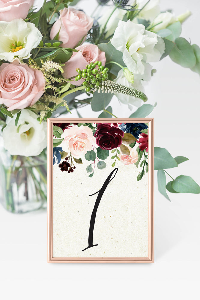 Melissa Table Number