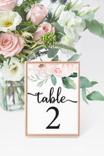 Jessica Table Number
