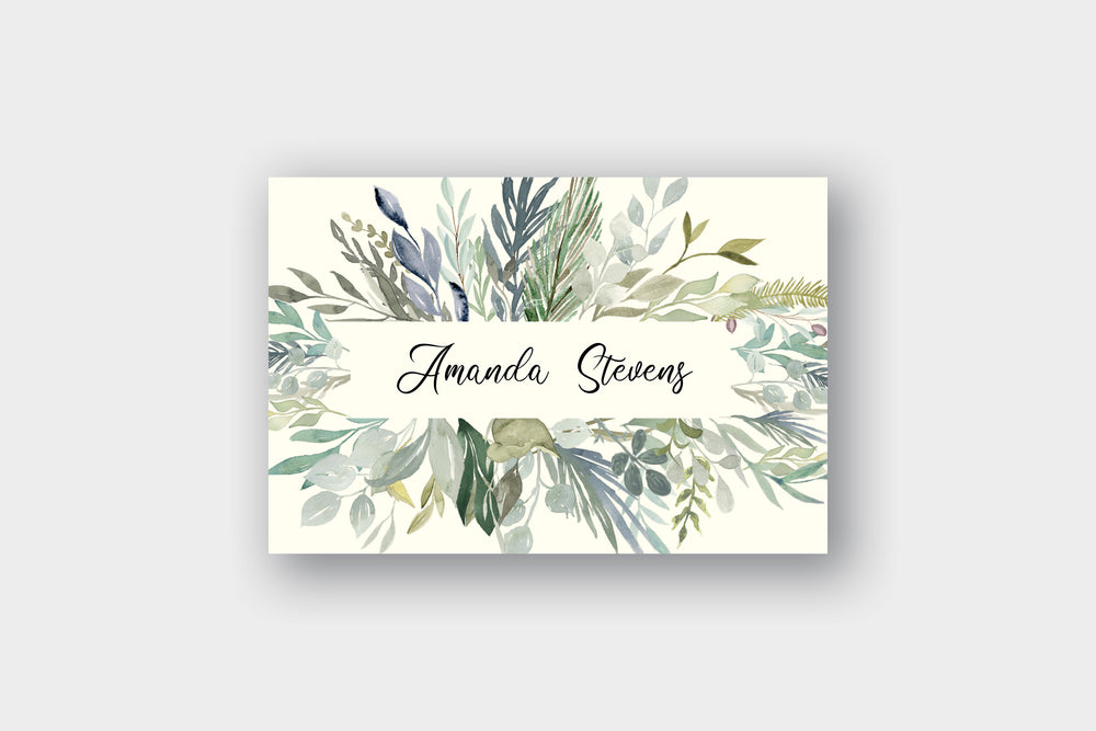 Sage Greenery Note Cards