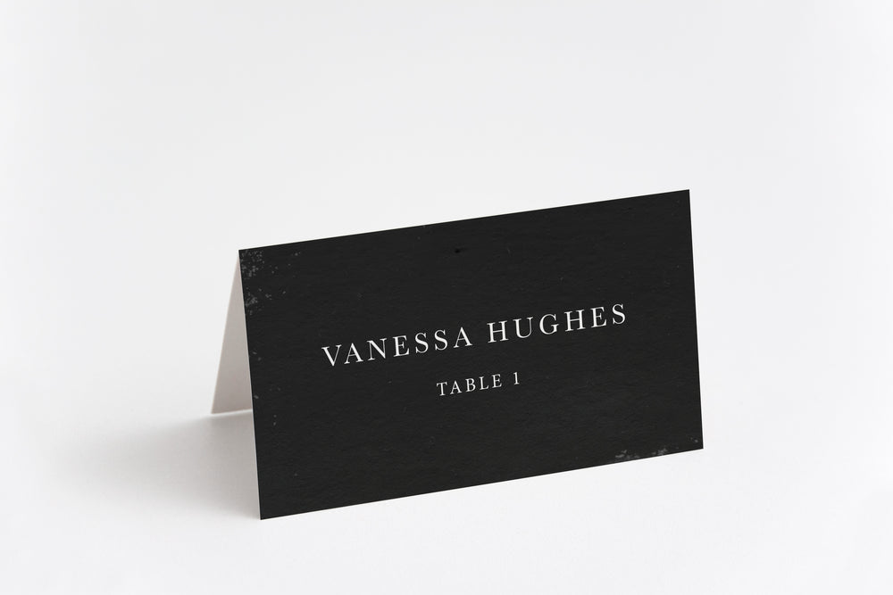 Rose Place Card