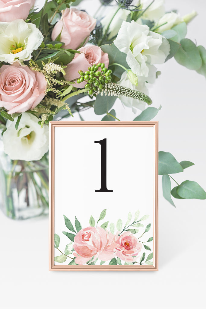Jasmine Table Number